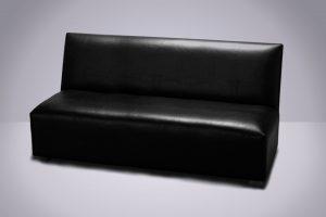 Butacón 3 cpos. Negro 160 × 67 × 83cm.